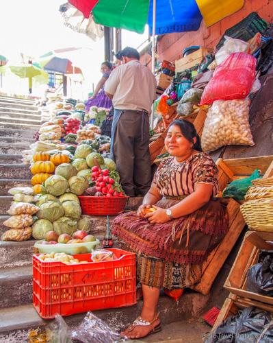 market in Guatemala City