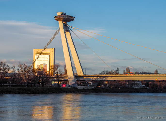 SNP Bridge in Bratislava