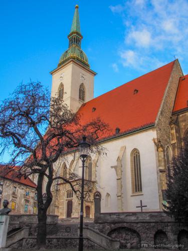 St. Martin's Cathedral in Bratislava