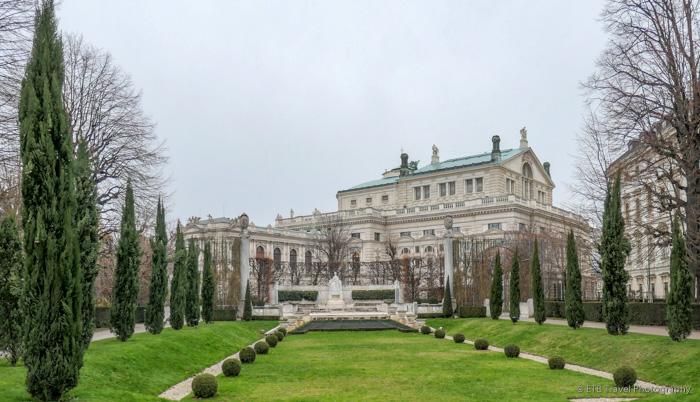 hofburg complex in Vienna