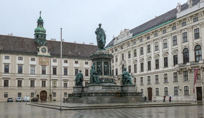 josefplatz in vienna
