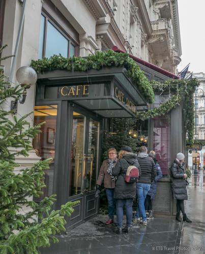 cafe sacher in vienna