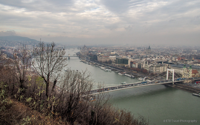 View from Gellert Hill in Budapest