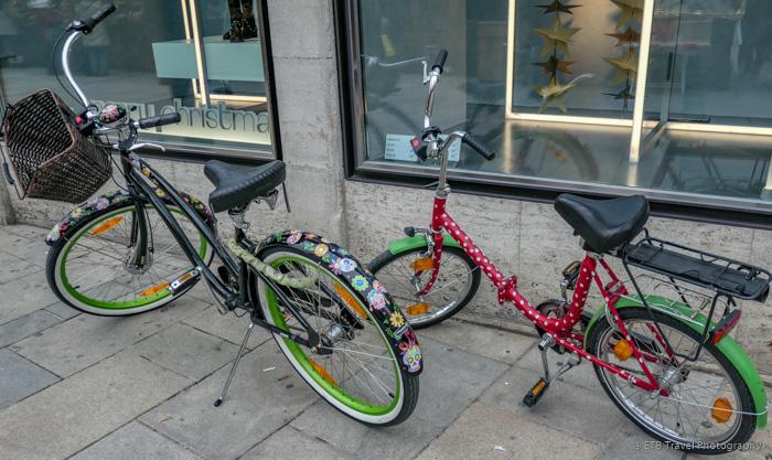 bicycles in regensburg