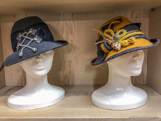 Famous hatmaker in Regensburg