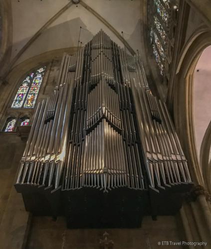 organ in Regensburg Cathedral