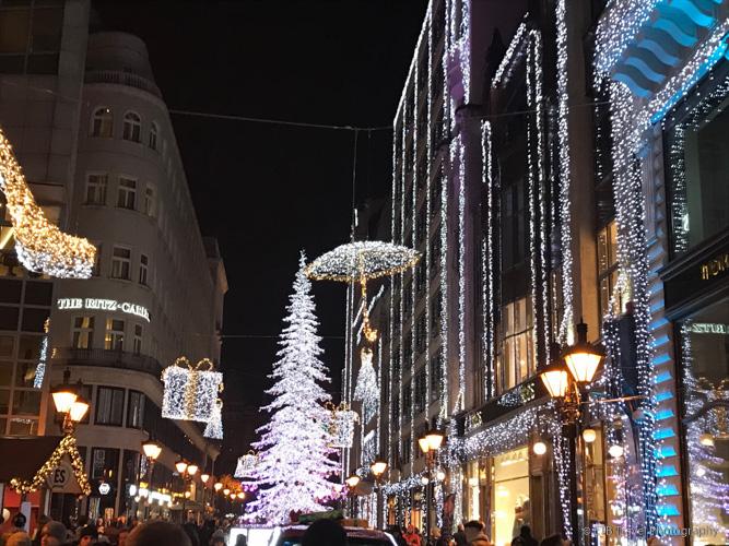 Fashion Street in Budapest