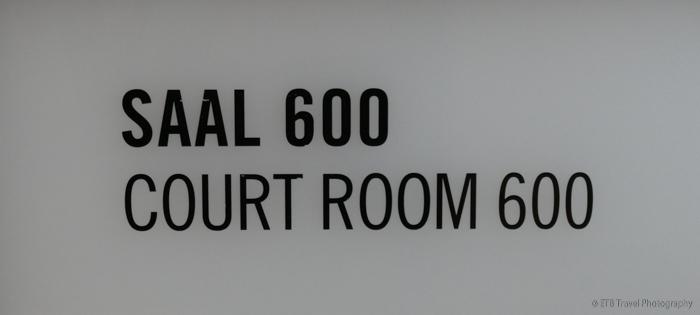 Courtroom 600 in the Memorium Nuremberg Trials