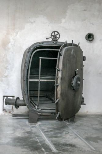 steamer at Auschwitz