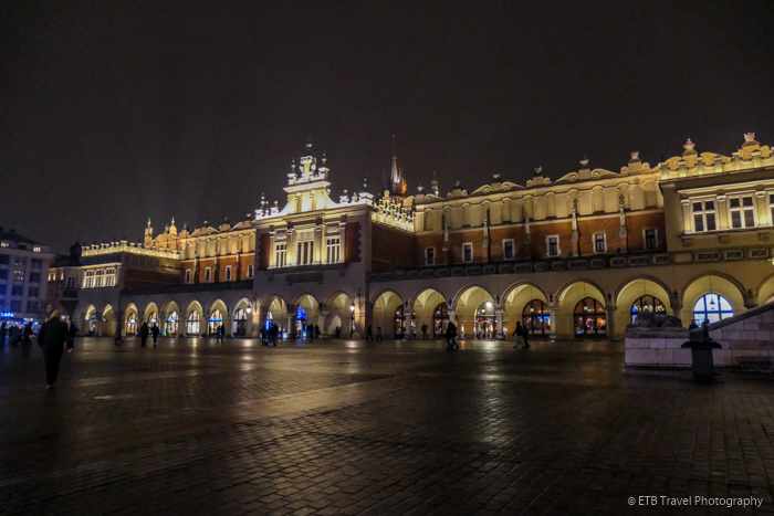 Cloth Hall in Krakow's Old Town
