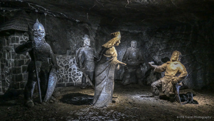 Princess Kinga Scene at Wieliczka Salt Mine