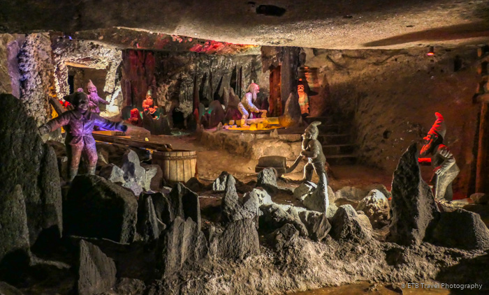 Seven Dwarves Scene at Wieliczka Salt Mine