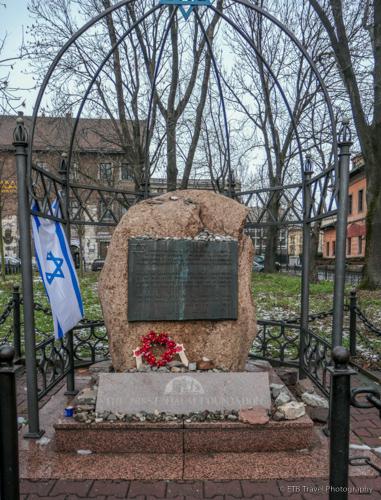 Nissenbaum Memorial in Krakow's Jewish Quarter