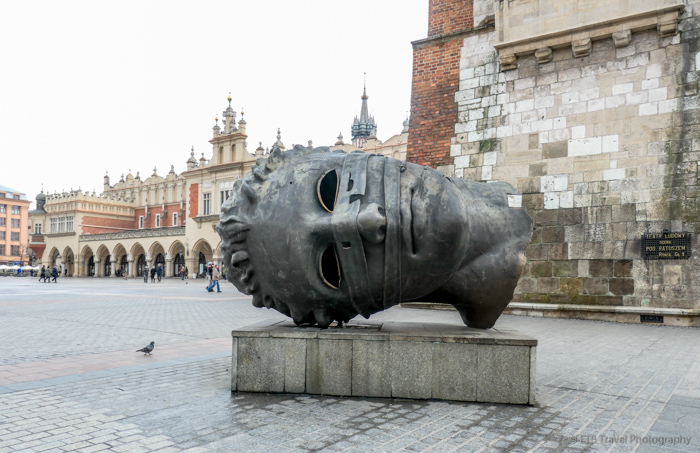 Eros Bendato in Krakow's Old Town