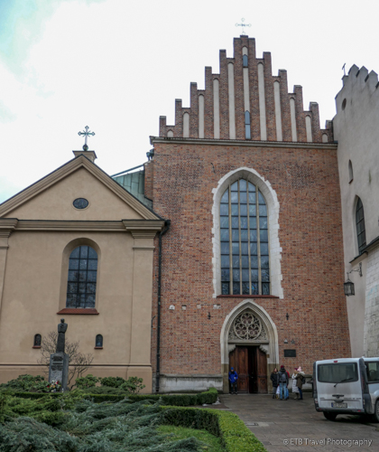 St. Francis of Assisi Church in Krakow's Old Town