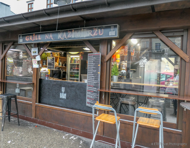 Street Food at Ha Ha Bar in Krakow