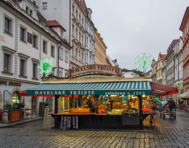 Havelské tržiště in Prague
