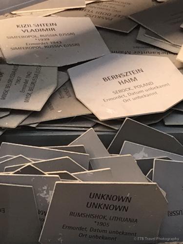 Exhibit in Nurember's Documentation Center