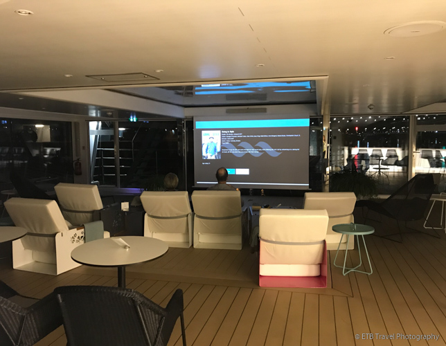 movie theater on Danube River Cruise