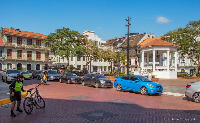 Plaza de la Independencia in Panama City