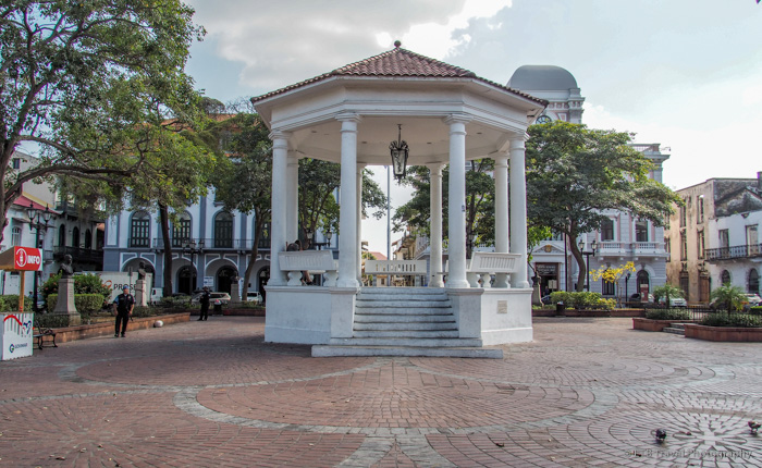 Plaza de la Independencia in Panama City
