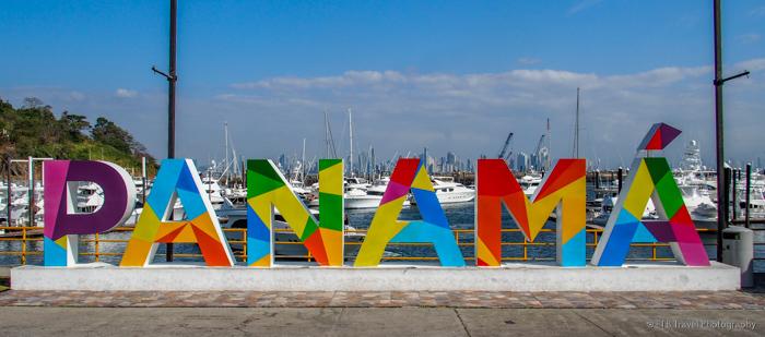 Panama City sign