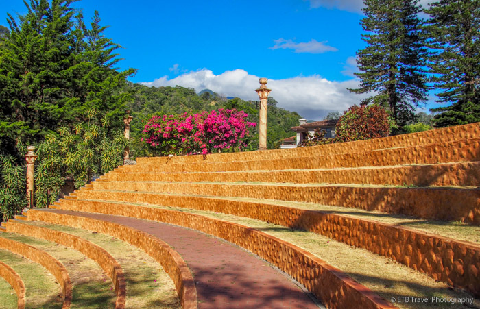 outdoor stage at hotel in Boquete