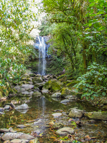 Third Waterfall on Three Waterfalls Trail