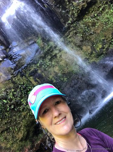 Me at Three Waterfalls Boquete