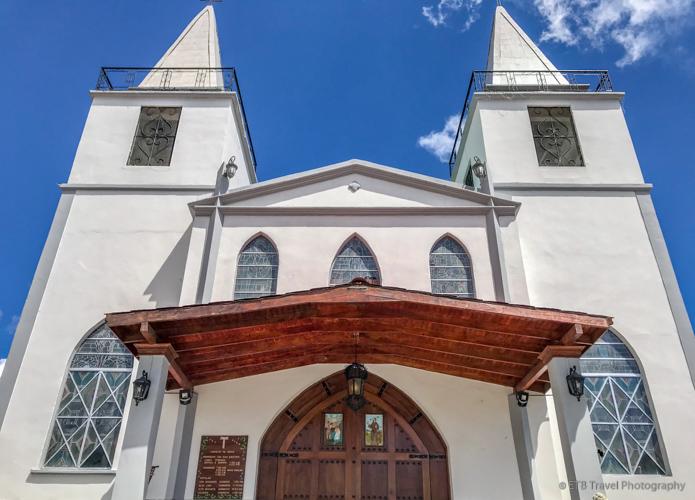 church in boquete
