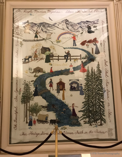 tapestry at the Colorado State Capitol