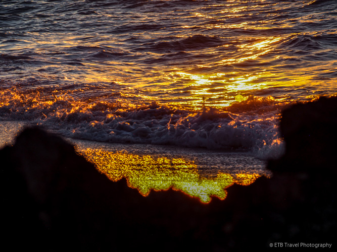 sunset in Anguilla