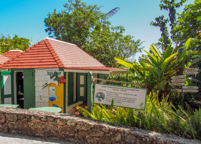 Trail Shop in Saba