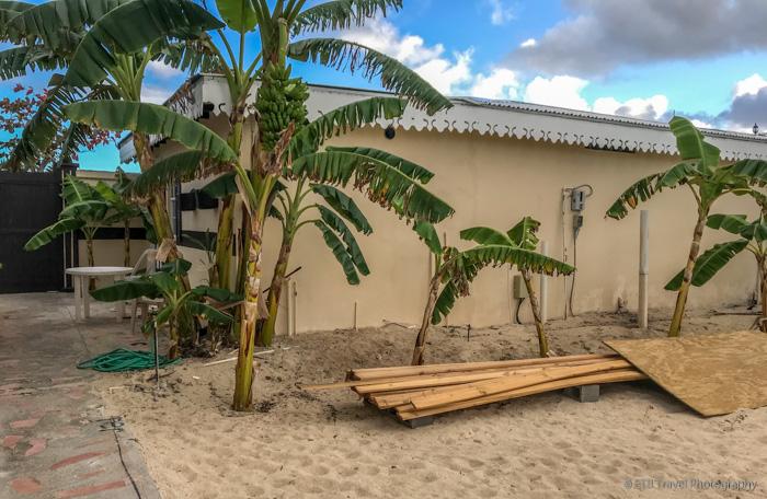 my hotel room in Sint Maarten
