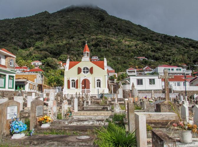 cemetery in Saba