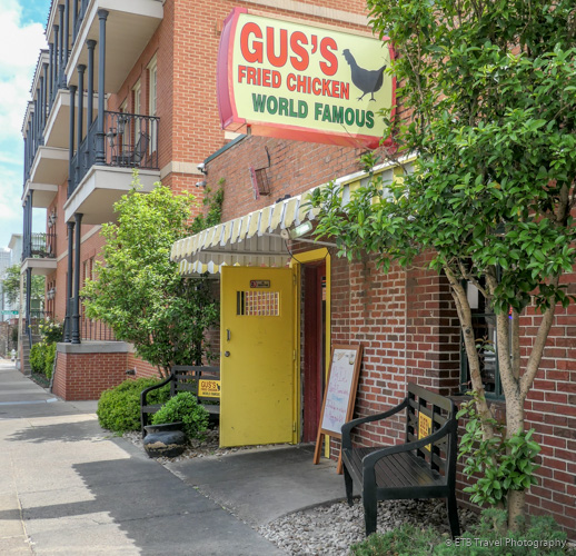 Gus's Fried Chicken in Memphis