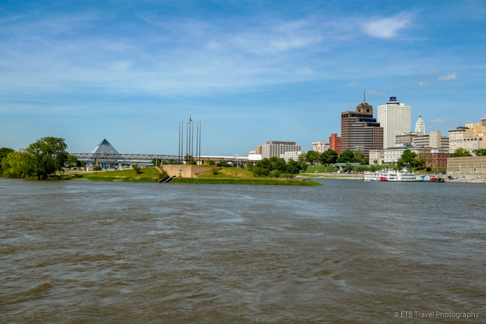 view of Memphis from Steamboat