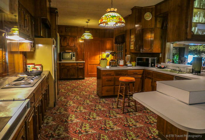 kitchen at Graceland Mansion