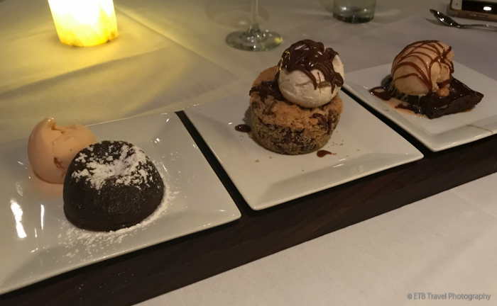 dessert flight