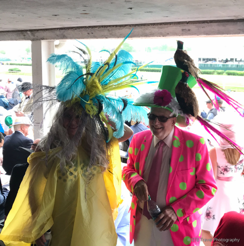 Fun hats at the 145th Kentucky Derby