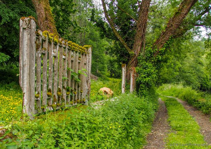 the path below uzerche