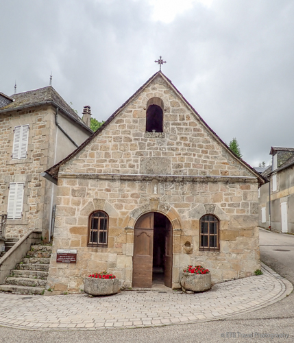 Chapel of the Penitents in gimel les cascades