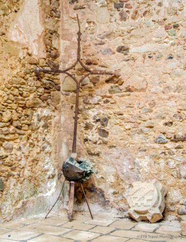 church ruins in Oradour-sur-glane