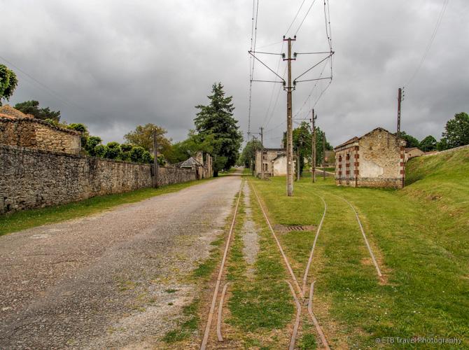 train station in oradour-sur-glane