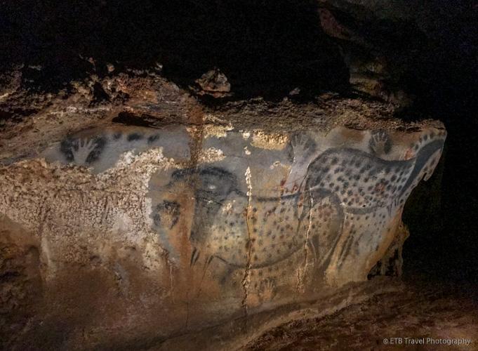 horse paintings in pech merle cave
