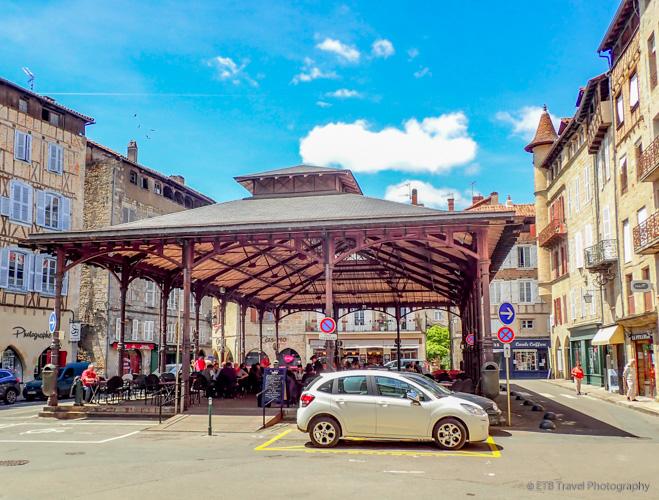 market area in figeac