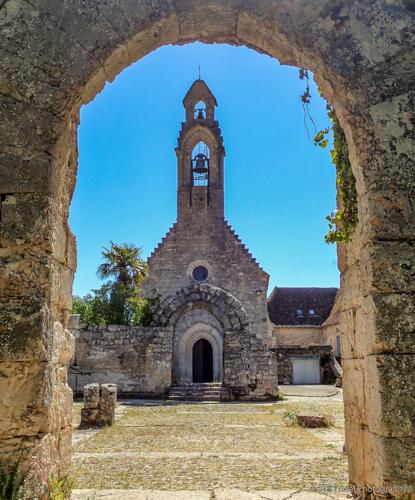 Vestiges Chapel in Rocamadour