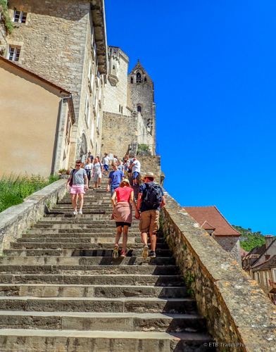 Grand Staircase in Rocamadour