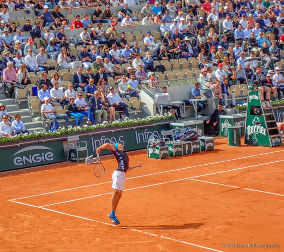Zverev at Roland-Garros
