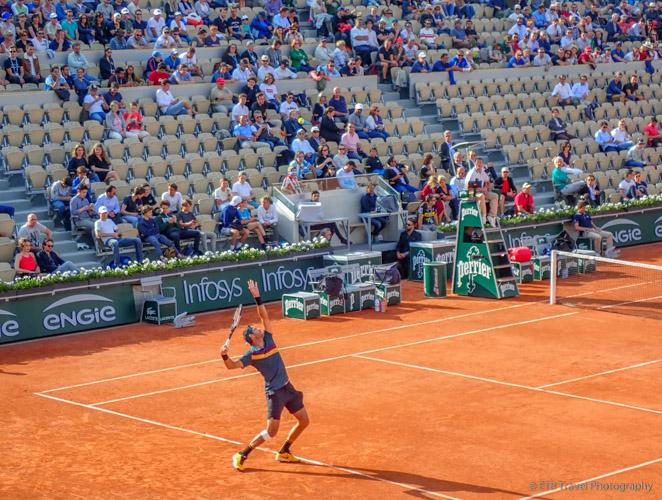 Del Potro at Roland-Garros